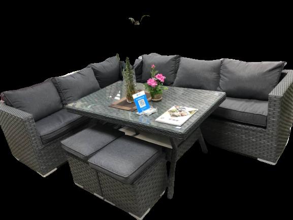 Wicker Stock Sofa Set