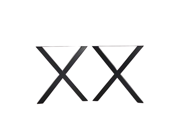 X Design Mild Steel Table Bench Legs