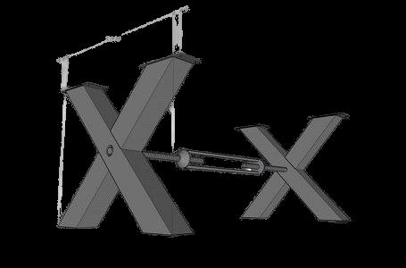 Leonard X Connect Table Legs,