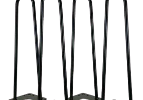 Hairpin Table Bench Metal Legs, KTS-43BTL