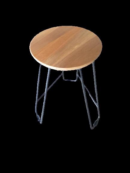 Balau Side Table Round