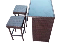 Rattan Mini Bar Set, JHA-982A