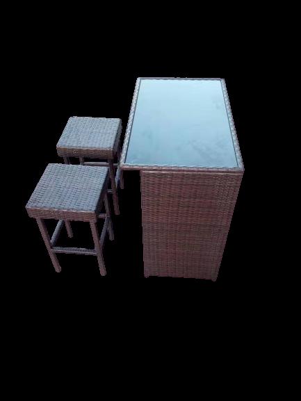Rattan Mini Bar Set