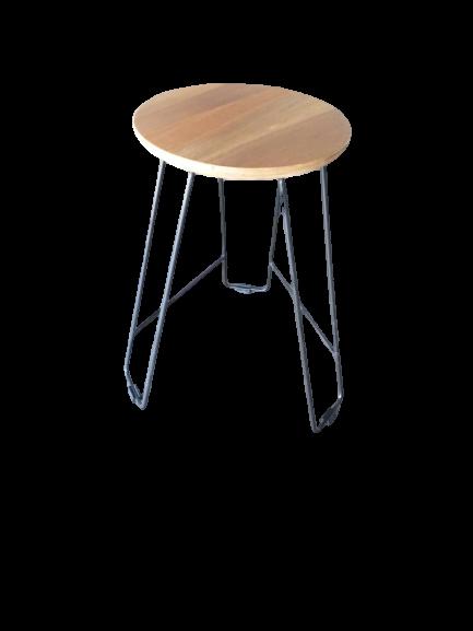 balau wood round table