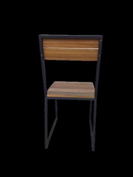 wooden balau chair