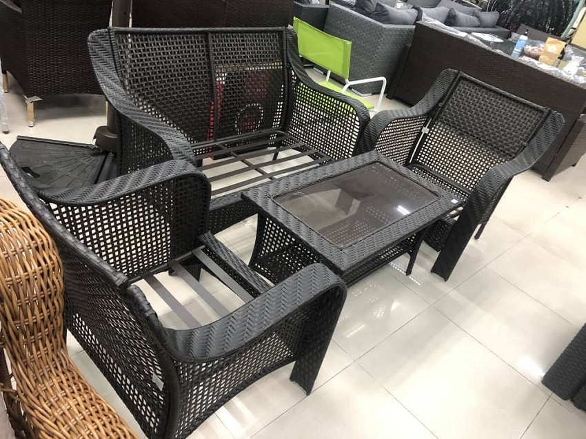 Akeels Wicker Sofa Set