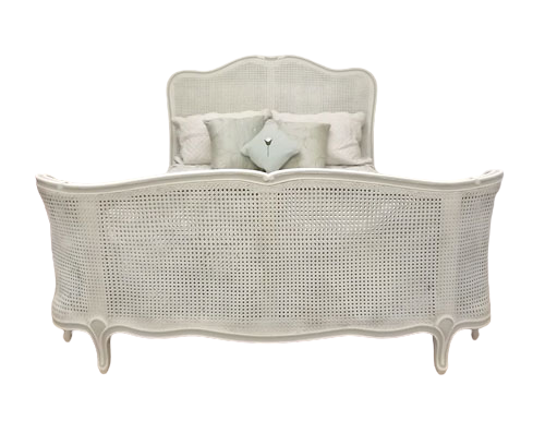 Elise Rattan French Bed