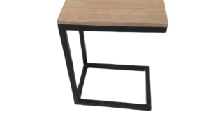 End Table Mild Steel  With Block Board, DC-101
