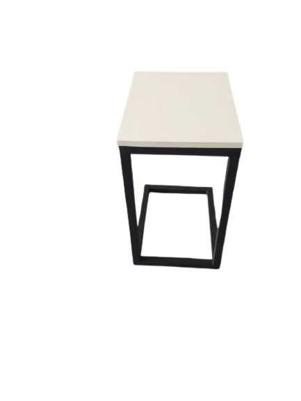 End Table Mild Steel with Block Board