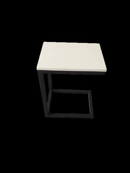 End Table Mild Steel with Block Board. Selangor