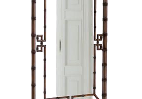Fleur Bamboo Design Mirror, JD-362