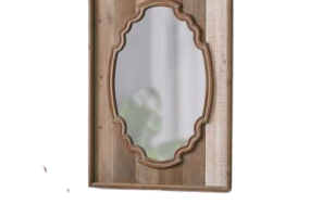 Francine Antique French Mirror, JD-363