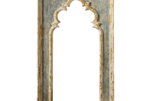 French Style Rustic Distressed Finished Wall Mirror, JD-383