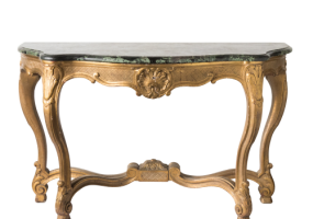 Jane Hawke Classic Console Table With Marble Top, JD-355