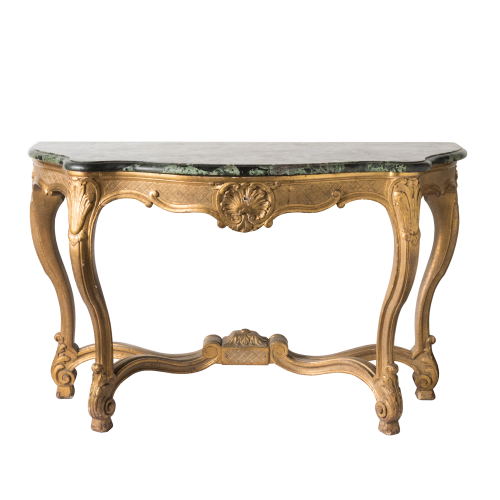 Jane Hawke Classic Console Table With Marble Top