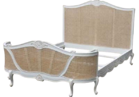 Josephine Rattan Natural  Bed, JD-663