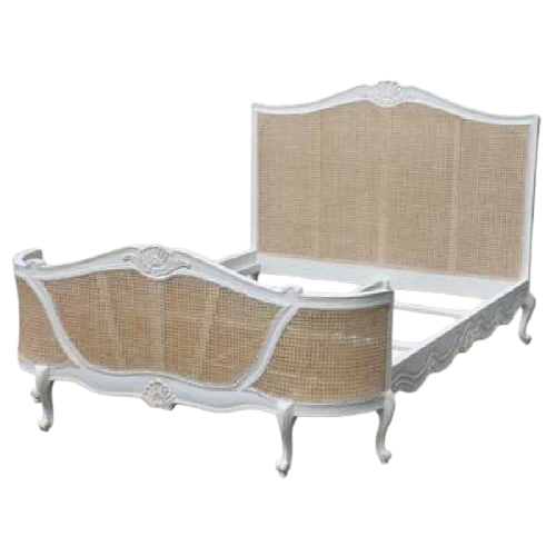 Josephine Rattan Natural bed