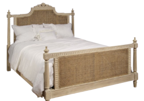 Remi Natural Rattan Bed, JD-672