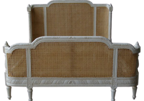 Sophie Rattan Bed, JD-662