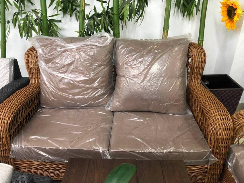 Synthetic Rattan Design Sofa Set