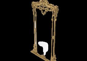 Baroque Floor  Classic Mirror, JD-361