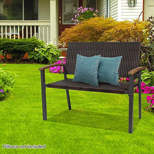 flora bench for outdoor