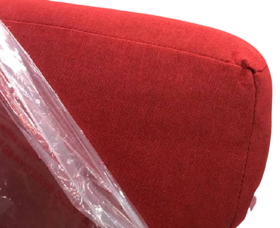 red color cushion