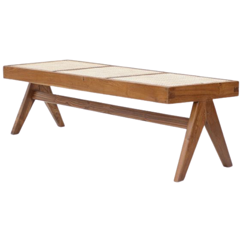Accents French Bench With Natural Cane, Selangor