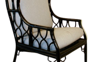 Aimee French Wing Chair, JD-2037