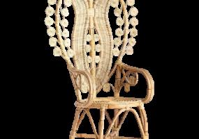 Bella Peacock Design Arm Chair, JD-2047