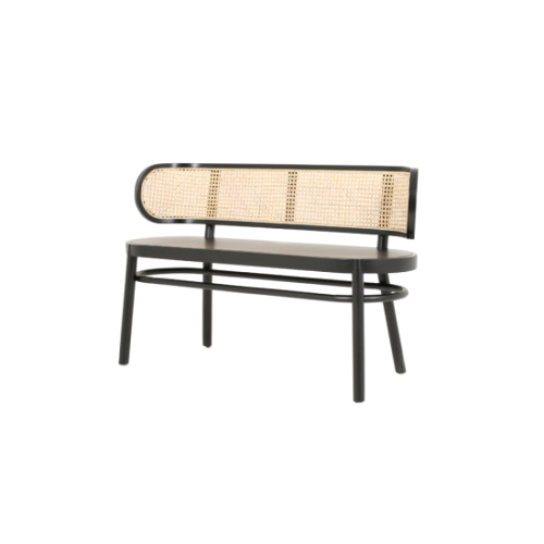 Cadenza Natural Cane wood Bench