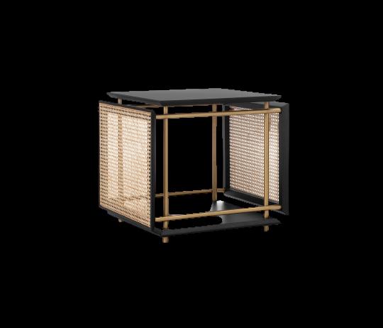 Cadenza Side Table, wiener box design