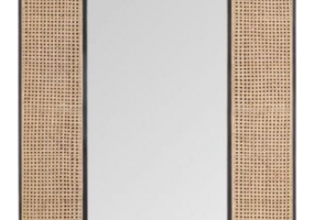Cadenza Wall Hanging Cane Webbing Mirror, JD-4011
