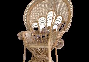 Peacock Natural Rattan Sofa, JD-2045