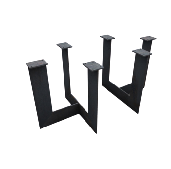 Speedway Powder Coated Metal Table Legs