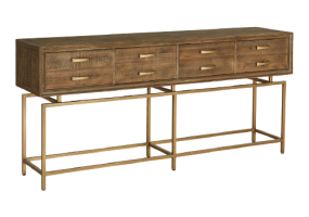 Takaful Console Table Legs, KTS-115L