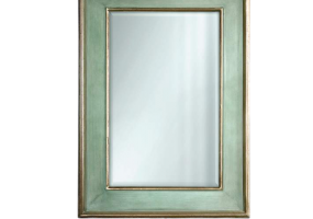 Vinatge Turquoise  Gold Wall Mirror, JD-4008