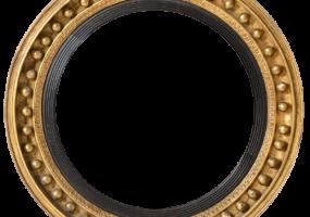 Vintage Classic Round Mirror, JD-4001