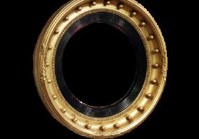 Antique Convex Classic Mirror, JD-4009