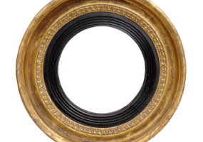 Antique English Regency Convex Mirror, JD-4010