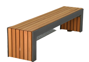 Madge Mansions Outdoor Bench, KTS-139