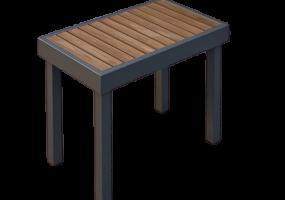 Ogawa Garden Single Bench, KTS-120S