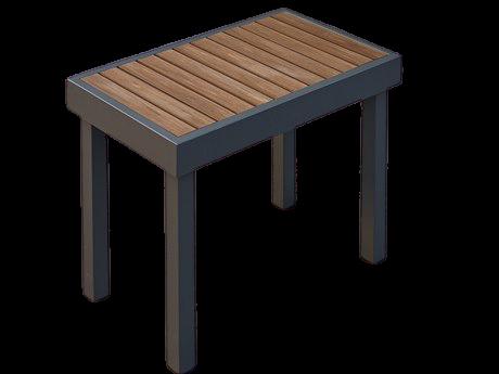 Ogawa Garden Single Bench
