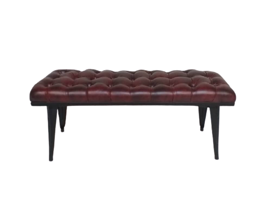 Paris Bench with PU Seat