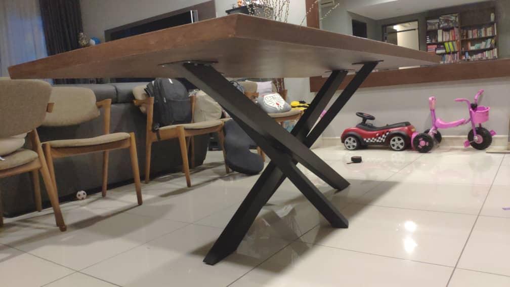 custom made metal table leg (1)