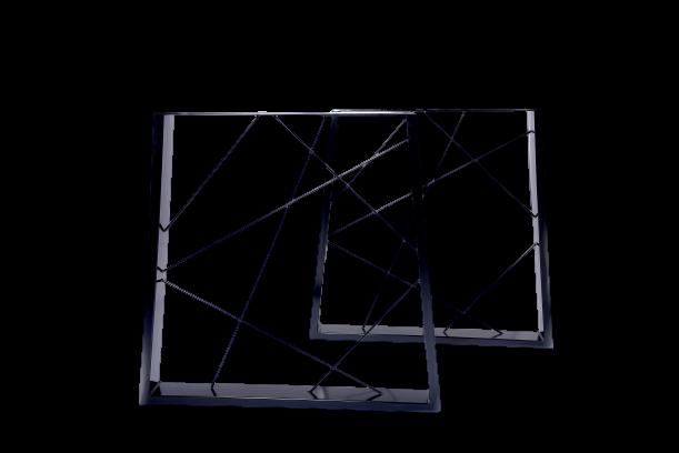 Jinyifan Metal Table Leg Trapezium