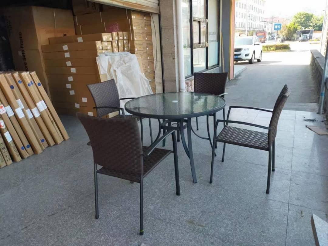 simons outdoor dining set